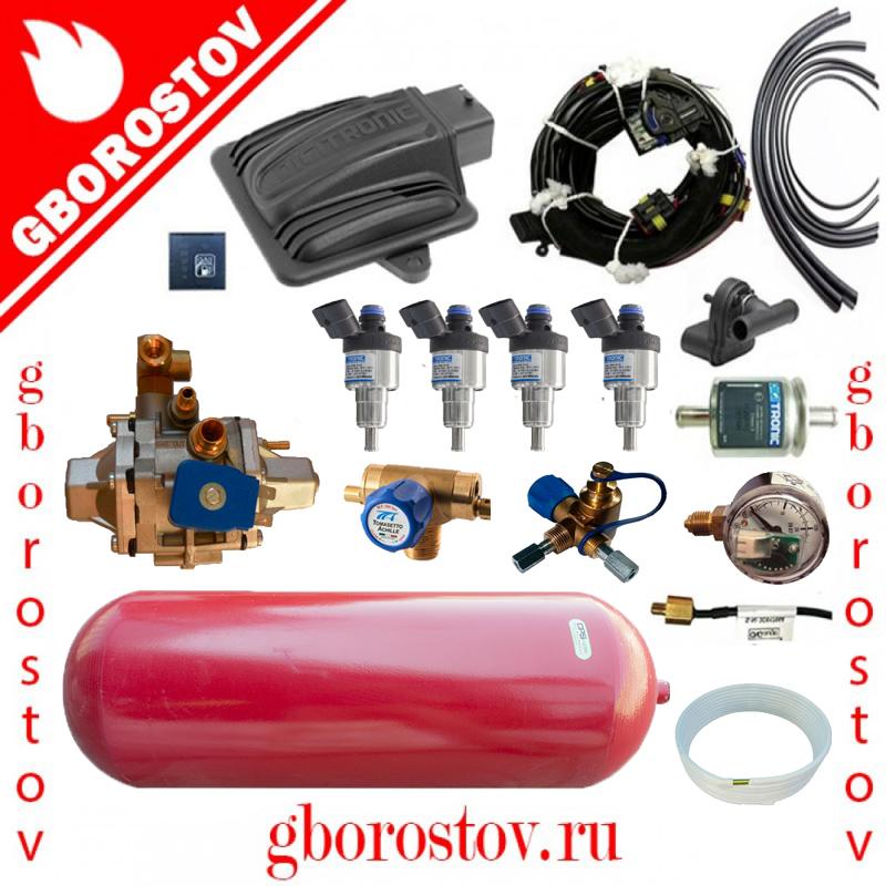 Метан Digitronic Maxi-2 редуктор Tomasetto CNG AT12 форсунки dymco 1.7 Om