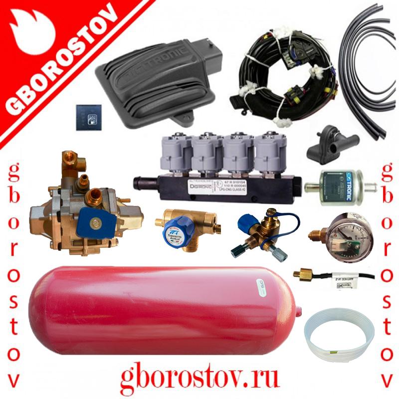 Метан Digitronic Maxi-2 редуктор Tomasetto CNG AT12 форсунки Digitronic 2 Om