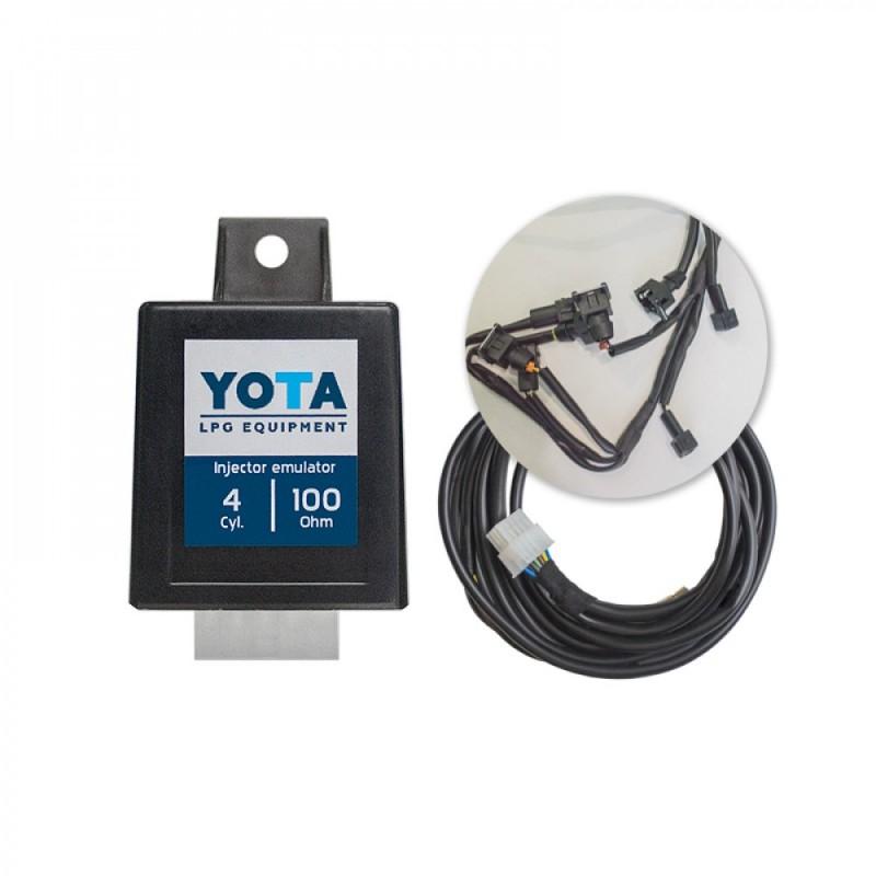 Эмулятор форсунок YOTA F4 (с разъёмами)EUROPA/BOSH