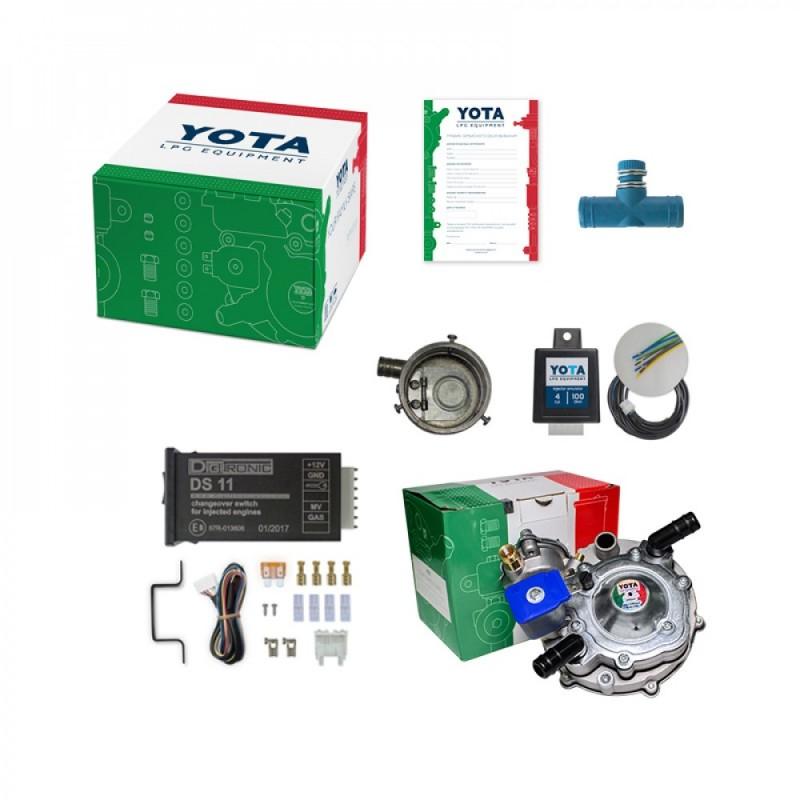 К-кт YOTA Инжектор (редуктор, кнопка W, эмулятор, смес. ВАЗ инж. Ø60 мм)