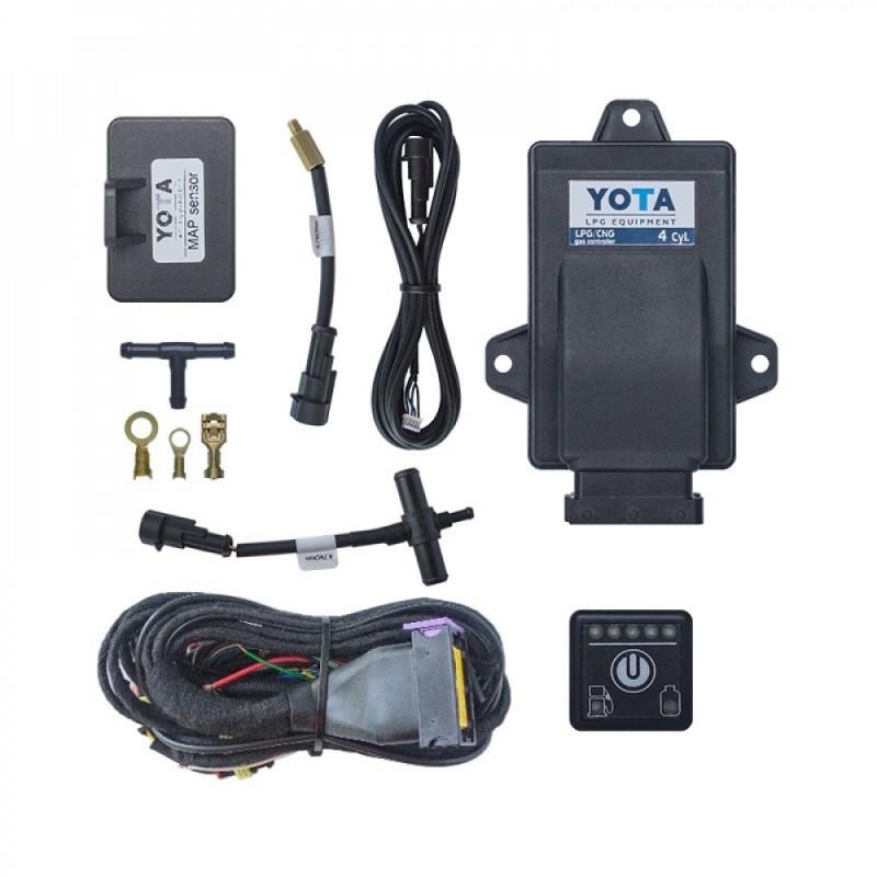 Электроника YOTA 4 PM (с датчиком уровня топлива)