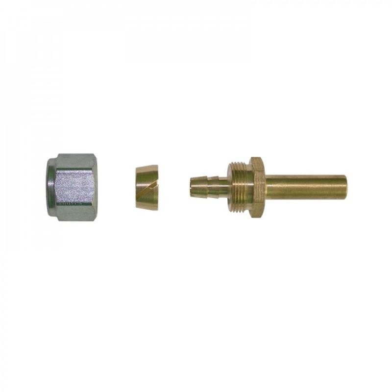 Переходник для трубки ПВХ c 6-М14х1 на 8 мм