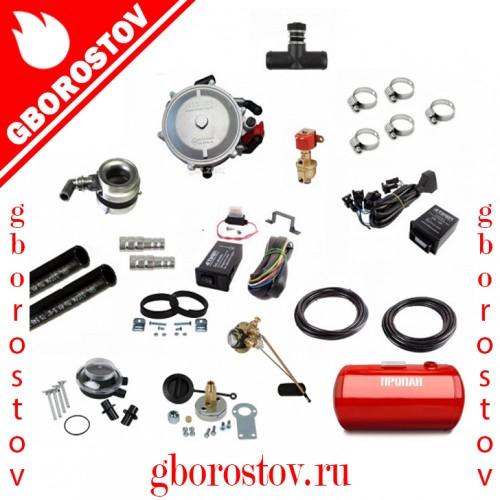 Комплект газового оборудования ГБО 2 поколения Atiker (инжектор) с тороидальным баллоном